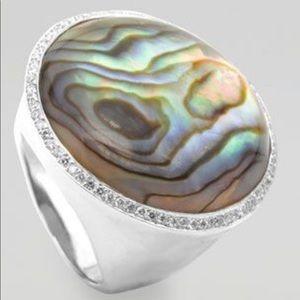 Ippolita Abalone Diamond Ring